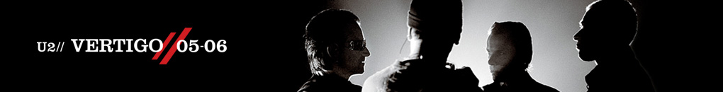 U2 Vertigo Tour 2005/06