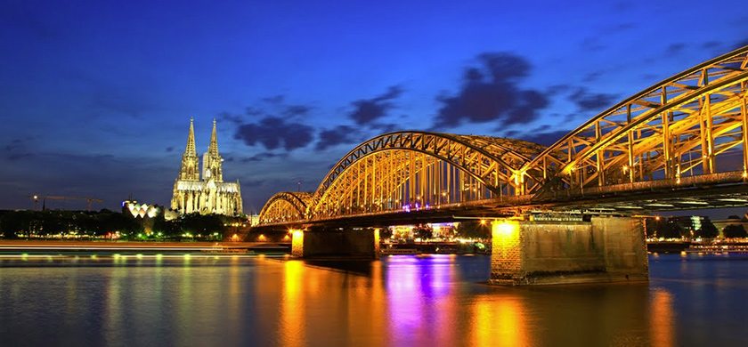 Cologne et sa cathédrale.