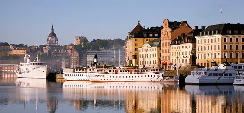 La vieille ville de Stockholm.