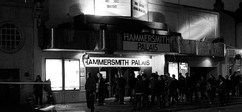Le Hammersmith Palais où U2 donna trois concerts en mars 1983.
