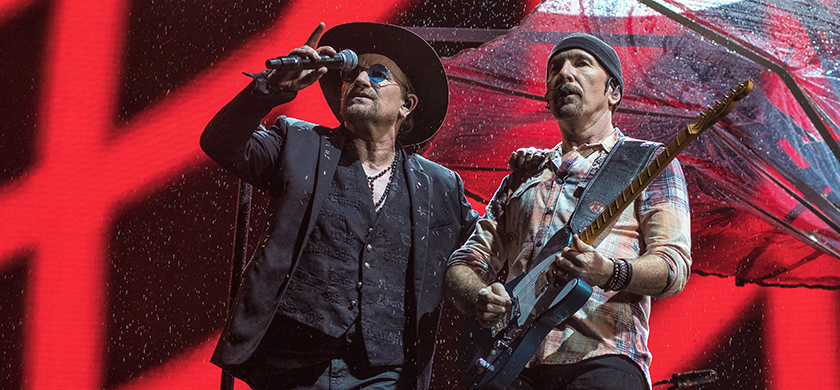 U2 U2 Berlin Pride De La Pluie Et Des Saucisses