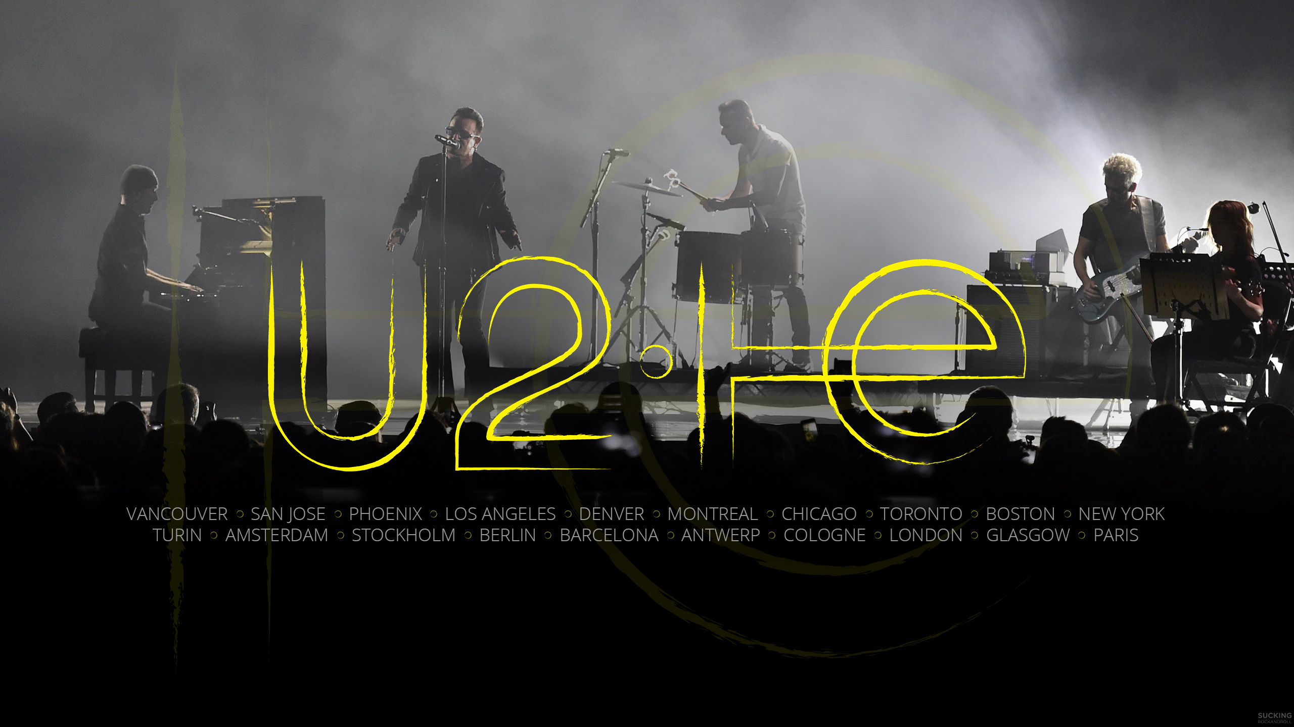 U2 Le Innocence Experience Tour En Fond D Ecran